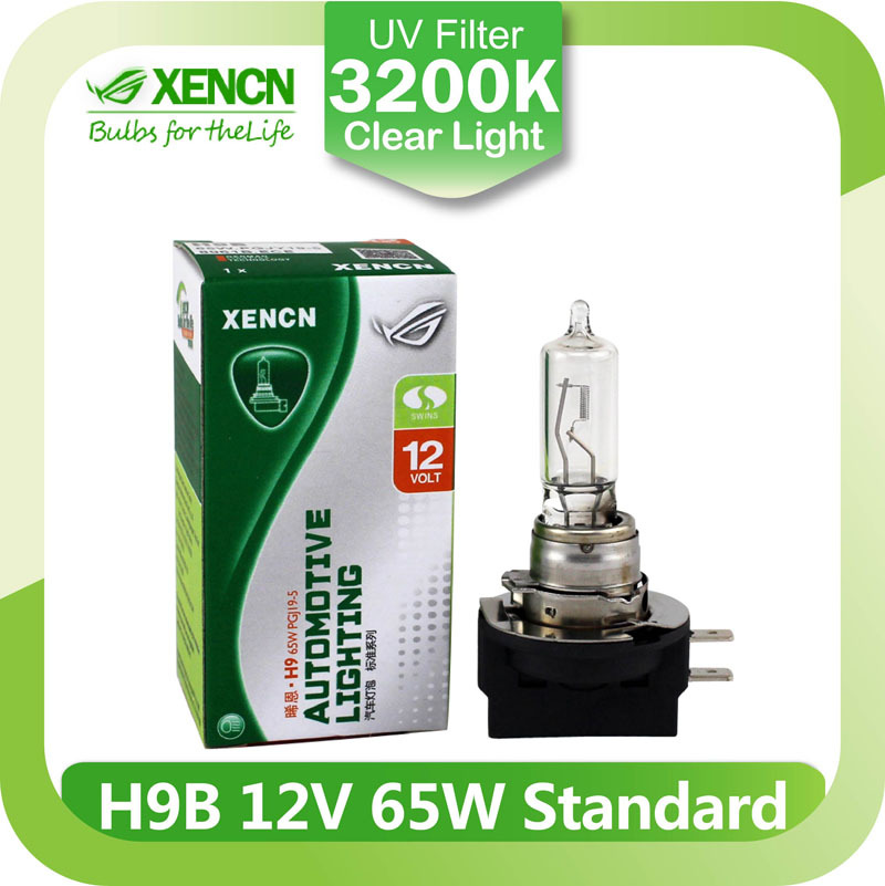 XENCN H9B 12V 65W 3200K Clear Series Original Car Headlight High Quality Halogen Bulb Auto Fog Lamps(China (Mainland))