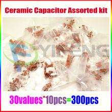 300pcs 30value 50V Ceramic Capacitor Assorted kit Assortment Set (China (Mainland))