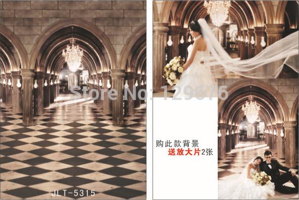 3m*5m Wedding Dress Photography Backdrops Vinyl Custom Photo Studio Background  JLT-5315<br><br>Aliexpress
