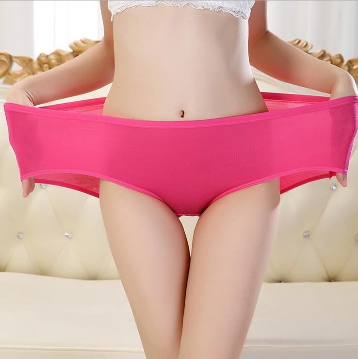 XXL plus size Women everyday briefs 95%bamboo fiber panties women underwear knickers 10pcs/lot excellent quality wholesalesОдежда и ак�е��уары<br><br><br>Aliexpress