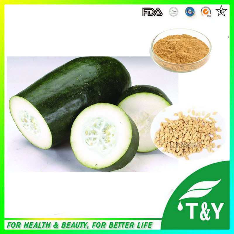 100%natural White Gourd Seed Extract/ Fatmelon Powder/Best Price Winter Melon Powder 300g/lot<br><br>Aliexpress