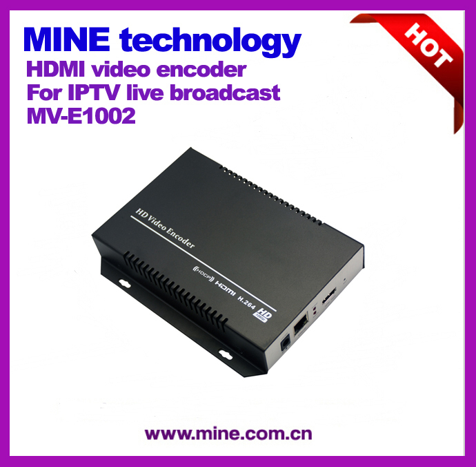 free shipping Portable Video live streaming Encoder for iptv ,broadcast,internet tv/web tv,live stream(China (Mainland))