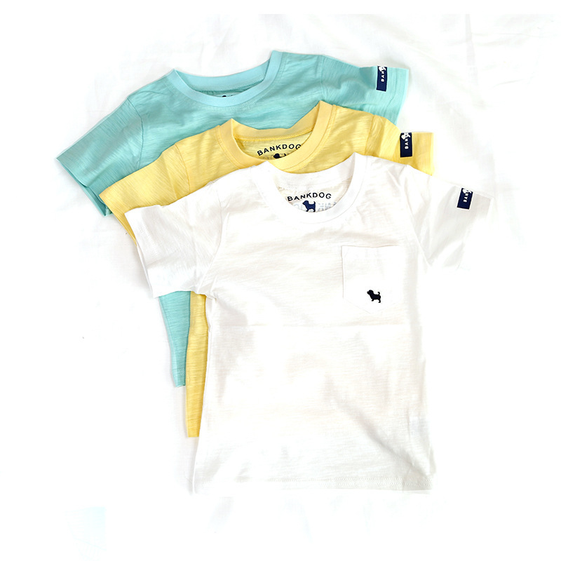 2015 Summer Kid Korean New Baby Children T Shirts Pure Cotton Short Sleeve Boys Clothes For Girls Gift TX05061(China (Mainland))