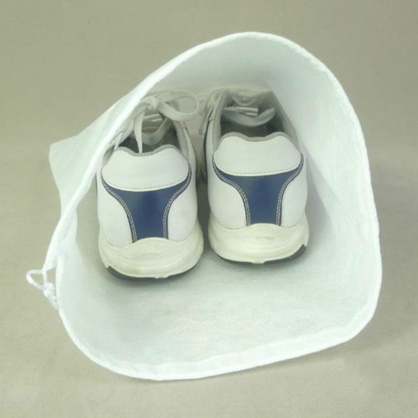 1pcs Foldable Portable Fabric Dustproof Shoes Storage Bag Pouch For Travel Camping Carrying Protect Shoes New(China (Mainland))