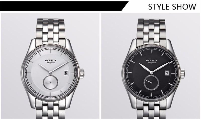 2016 Ochstin Марка Часы Мужчины Бизнес Кварцевые Часы Мужские Наручные Часы Кварцевые часы Relogio Masculino Montre Relojes Hombre