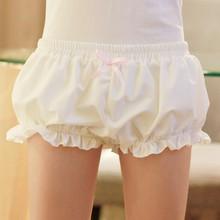 Японский девушки женщин лолита Harajuku симпатичные тыквы мягкое бутон шаровары леггинсы шорты брюки