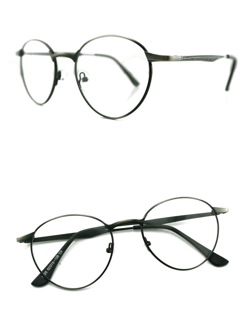 Vintage Silver Eyeglass Frames : New Arrive Retro Mens Women Vintage Eyeglass Frames Black ...