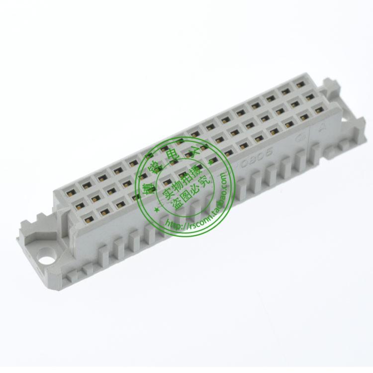 AMP DIN41612 Continental Connector 3-row 48PIN 180 Tara end Model: 5535091-5<br><br>Aliexpress