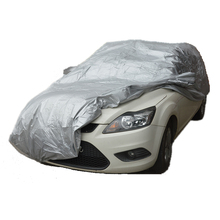 Car covers Size S/M/L/XL SUV L/XL Waterproof Full Car Cover Sun UV Snow Dust Rain Resistant Protection Gray free shipping(China (Mainland))