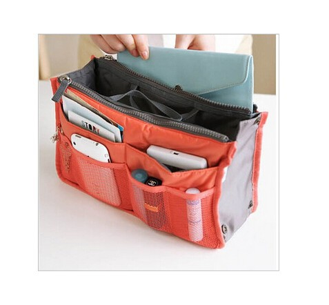 13 Colors Make up organizer bag Women Men Casual travel bag multi functional Cosmetic Bags storage