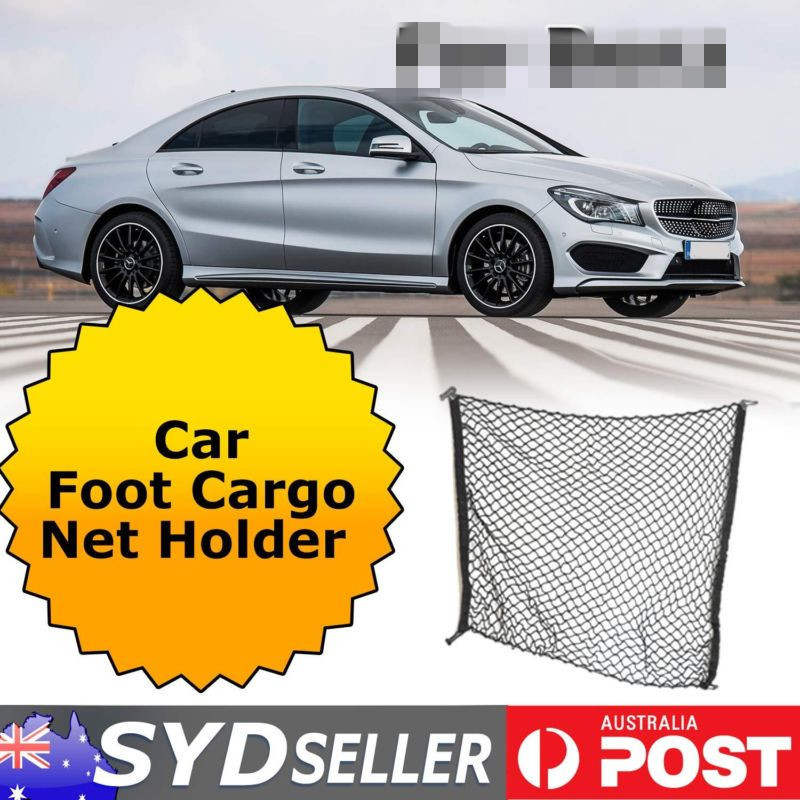 Car inerior cargo net car foot cargo net holder case for for Mercedes benz car trunk organizer
