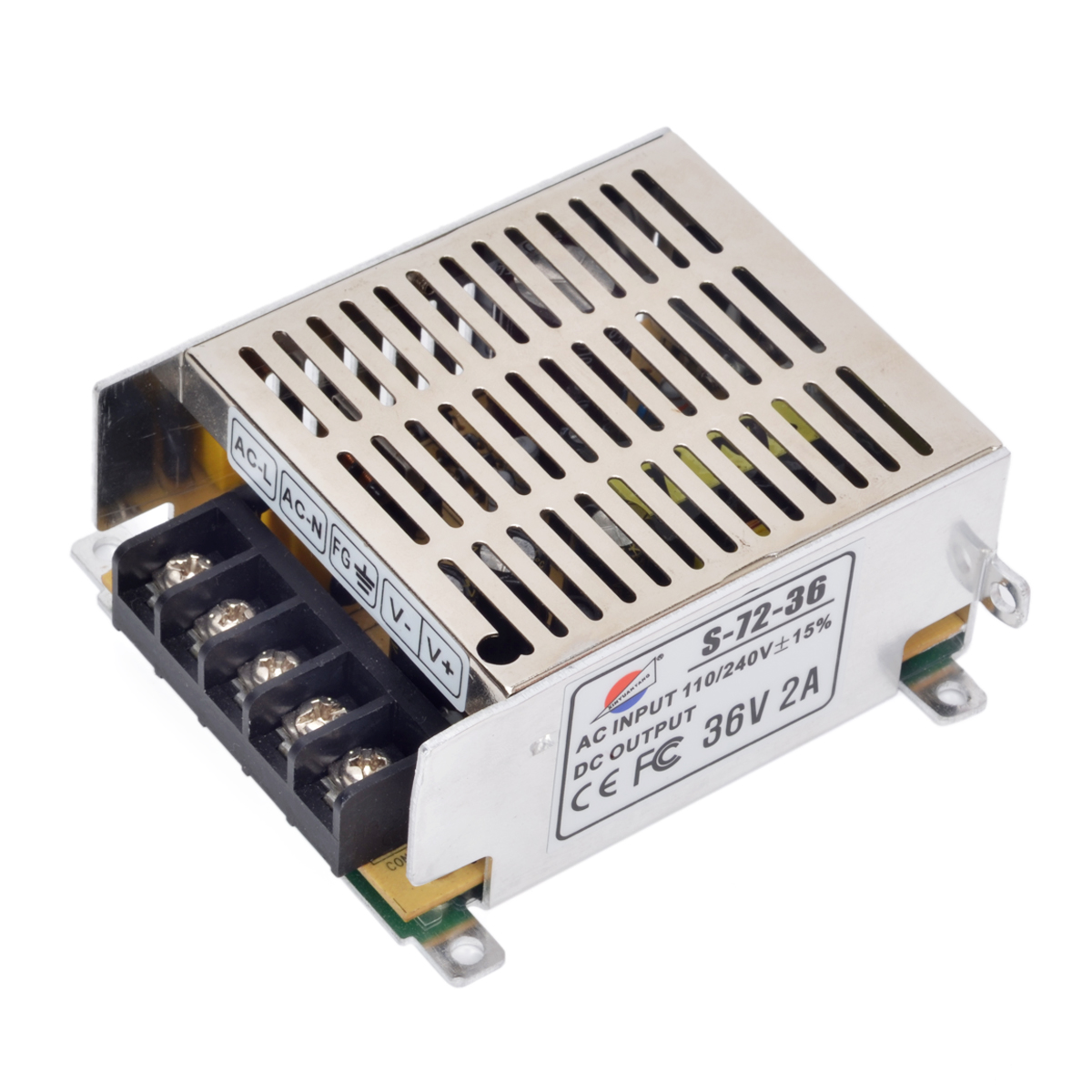 36V 2A Power Supply Adapter for LED Light Power Supply Driver Adapter Voltage Transformer for Led Strip Light Display 110V/220V(China (Mainland))