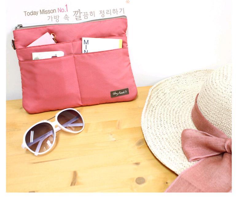 New Home and Traveling Women Organizer Handbag Storage Bag Multifunctional Sorting Bags Wash Bag Cosmetic Bag(China (Mainland))