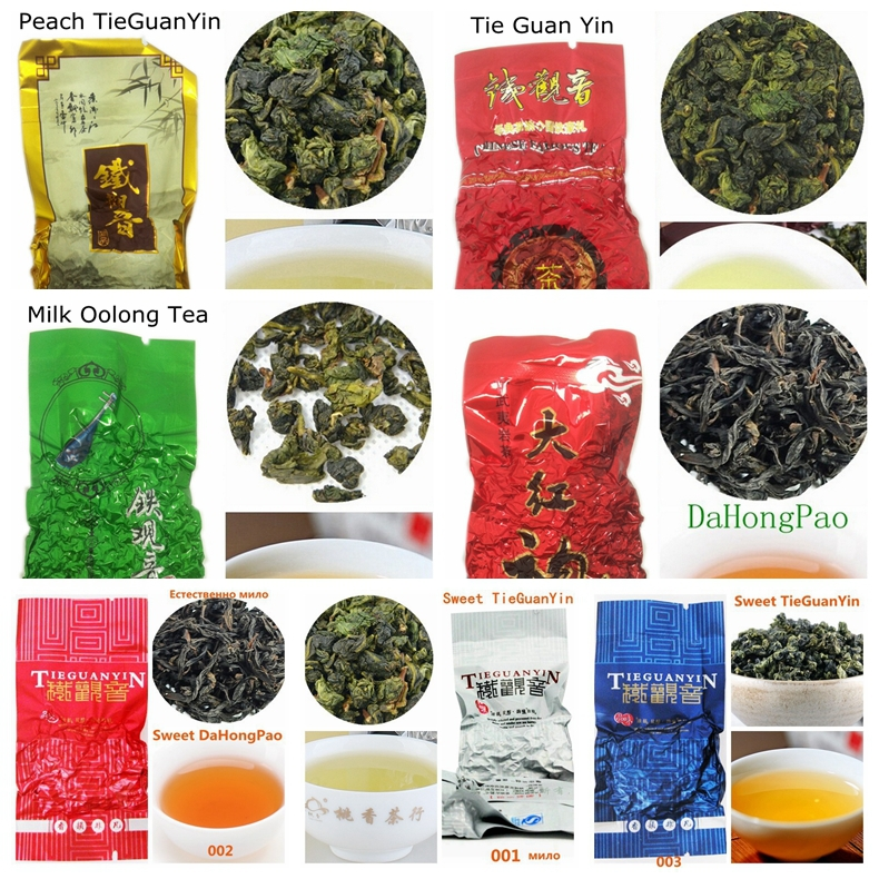 7 kinds da hong pao milk oolong tea wholesale chinese tea da hong pao milk oolong ginseng milk oolong tea da hong pao milky Naga(China (Mainland))
