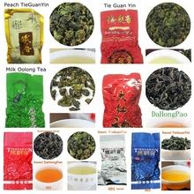 7 kinds sweet oolong tea milk chinese tea dahongpao tikuanyin fruit sweet Oolong tea tieguanyin 100g promotion discount FreeShip