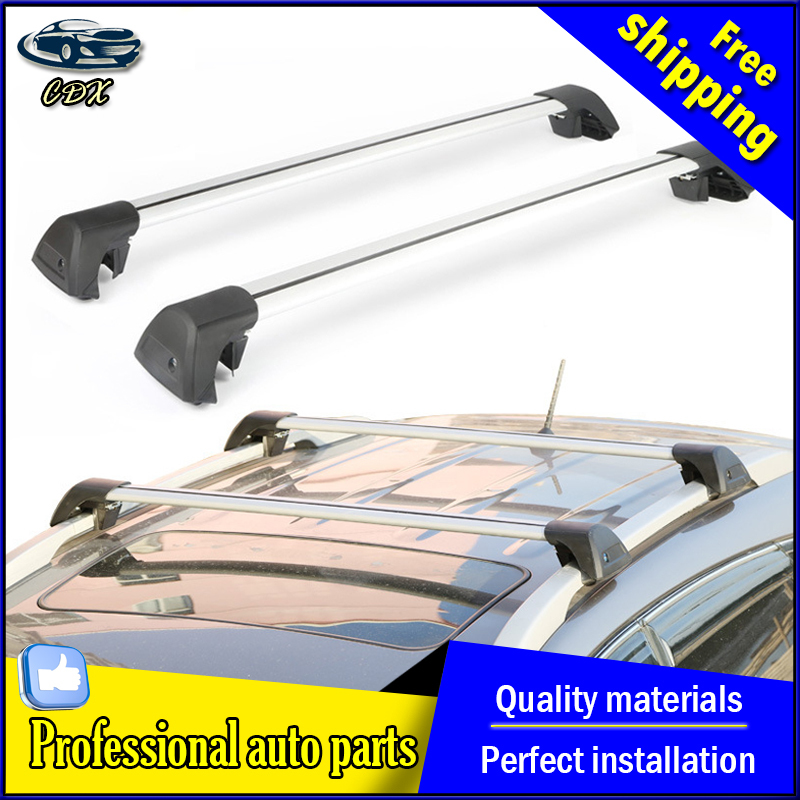AKD car styling For Kia Sportage R panoramic sunroof version aluminum roof rack crossbars wing rod mute(China (Mainland))