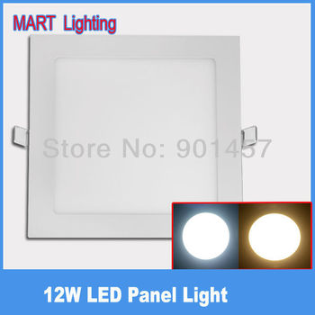 Ultra thin 12w ceiling led light panel 1150LM cree high birhgt kitchen bedroom hotel lamp