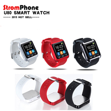 Bluetooth Smart Watch U80 wrist watch sport for iPhone 4/4S/5/5S Samsung S4/Note 2/Note 3 HTC Android Phone