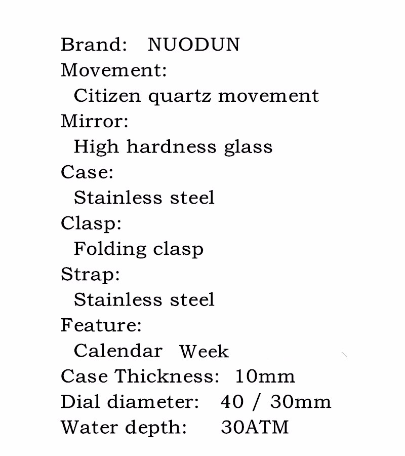 Nuodun Женщины Серебряные Часы Люксовый Бренд Оригинальный Календарь Розовое Золото Тонкие Мужские Часы Montre Femme Strass Cristal Luxe