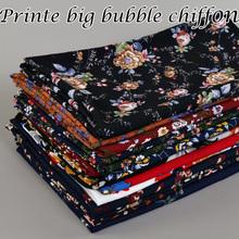 Hot selling Women Printe Big bubble chiffon design floral shawls hijab muslim nice 15 design wrap scarves/scarf 180*72cm(China (Mainland))