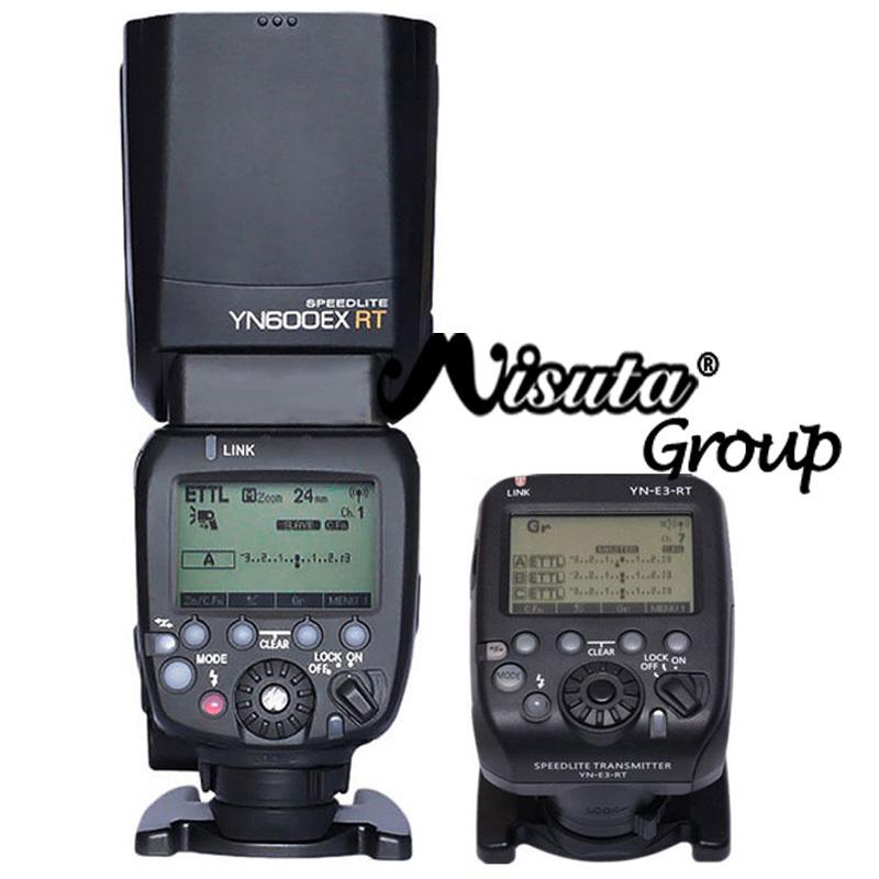 YONGNUO YN600EX-RT YN600EX Flash Speedlite + YN-E3-RT YN E3 RT Controller for Canon 650D 60D 1100D(Hong Kong)