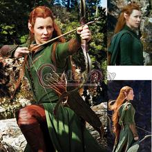 Custom made The Hobbit Desolation of Smaug Tauriel Costume women.