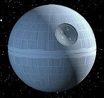 3D Paper Model Star Wars Death Star Model DIY Assembled Space Ship Handmade Toy(China (Mainland))