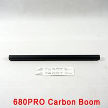 Tarot kit tarot 680Pro 16mm 3k 275mm Carbon Fiber tube Diy rc Drone Quadrocopter Quadcopter Frame Kit tarot carbon fiber tube