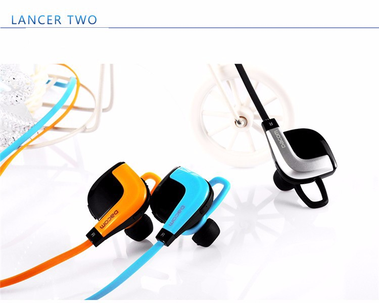 Original DACOM G02 Bluetooth Headphone V4.1 Sports Headset Wireless NFC In-Ear Earphone Running Music Headphone with Mic NFC