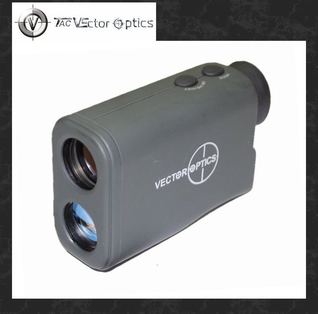 Free Shipping Vector Optics 6x25 Laser Range Finder Monocular 650 Meters Rangefinder Distance Meter 3 Modes