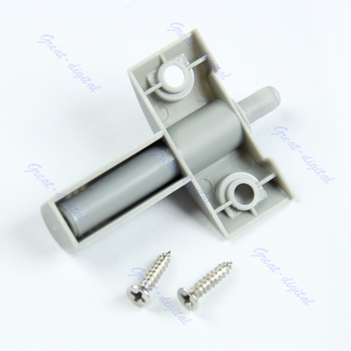 Free Shipping 10Set/Lot Gray Kitchen Cabinet Door Drawer Soft Quiet Close Closer Damper Buffers + Screws -PY-PY(China (Mainland))