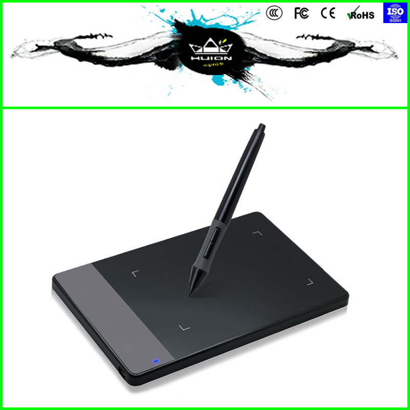 "HUION 420 4 x 2.23"" Art Graphics USB Digital Signature Pen Drawing Tablet For PC Best Gift Free Shipping(China (Mainland))"