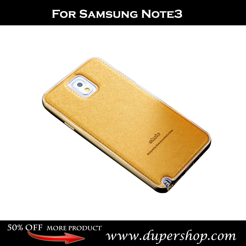 For Samsung Note3 Metal Frame Imported Silk Mobile Phone Case(China (Mainland))