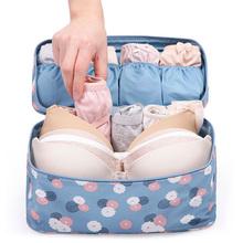 New Arrival Waterproof Travel Storage Bag Thickened Underwear Wash Bra Sorting Kit Organizer Makeup Bags Cosmetic Bag In Bag(China (Mainland))