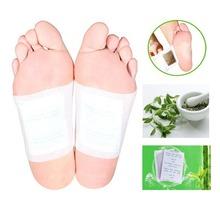 Hot Herbal Kinoki Detox Foot Pad Patch Gesso Medicina Tradicional Chinesa Melhorar O Sono de Bambu Massagem Relax Alívio Da Dor B010