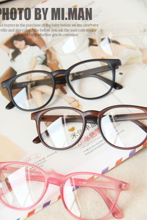 2014 Small Round PC Frame Fresh Retro Glasses Frame Plain(China (Mainland))