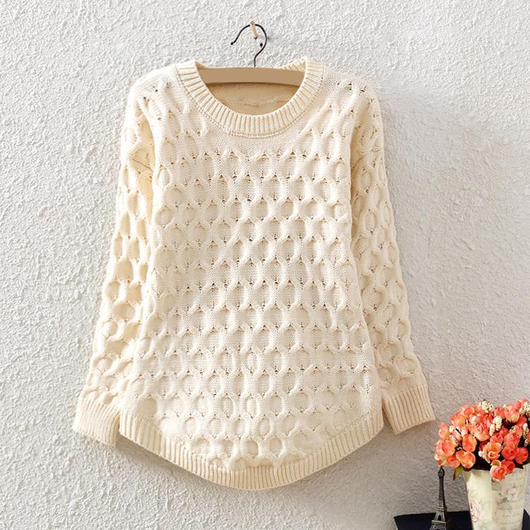Модные женские вязаные свитера своими руками