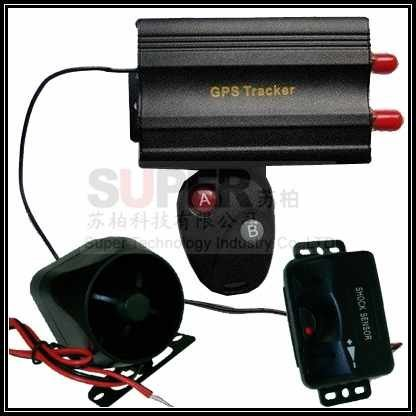 support platform Remote control vibrating alarm GPS tracker,siren vehicle gps tracker,oil fuel cutting control GSM/GPS tracker