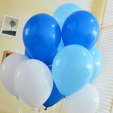 High Quality 10pcs/lot 1.5g Light Blue Latex Balloon Air Balls Inflatable Wedding Party Decoration Birthday  Party Kids Toys