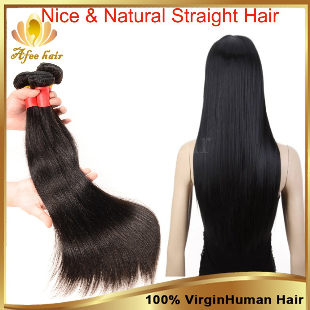 3Pcs Brazilian Virgin Hair Straight Unprocessed Virgin Brazilian Hair Weave Bundles Brazilian Straight Hair Remy Human Hair