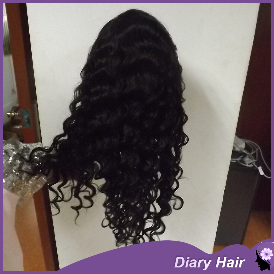 Brazilain afro kinky curly full lace front wigs 6-32 inch cheap best nature long hairstyles for black women DHL free(China (Mainland))