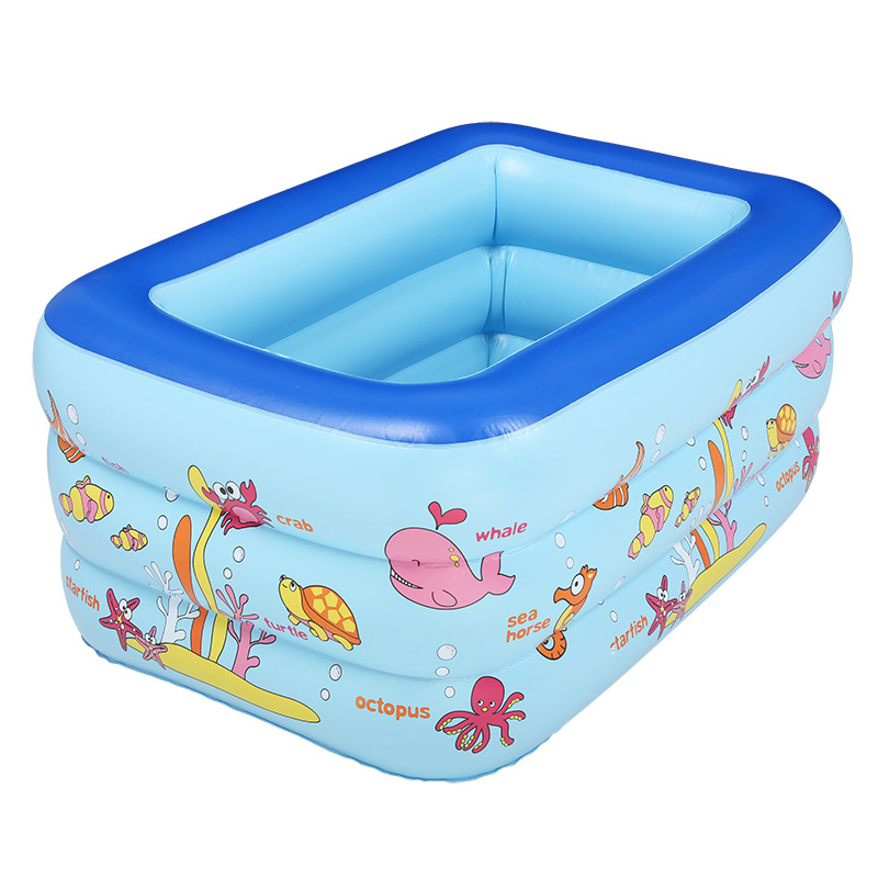 160cm 3 ring Kids inflatable pool baby swimming pool children inflatable swimming pool Indoor pool(China (Mainland))