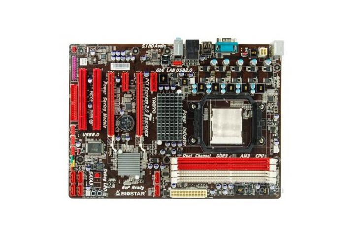 original motherboard for Biostar TA870 DDR3 Socket AM3 16GB 870 ATX desktop motherboard Free shipping(China (Mainland))