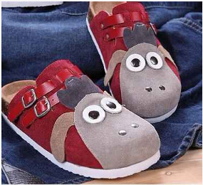 Hot sell sandals 2015 summer couple drag tactlessness female donkey head donkey beach shoes cork Baotou beach slippers(China (Mainland))