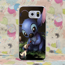 993-GOP Lovely lilo stich Hard Case Cover Galaxy S2 S3 S4 S5 & Mini S6 S7 Edge Plus - ShenZhen SIX 6 Co,.Ltd store