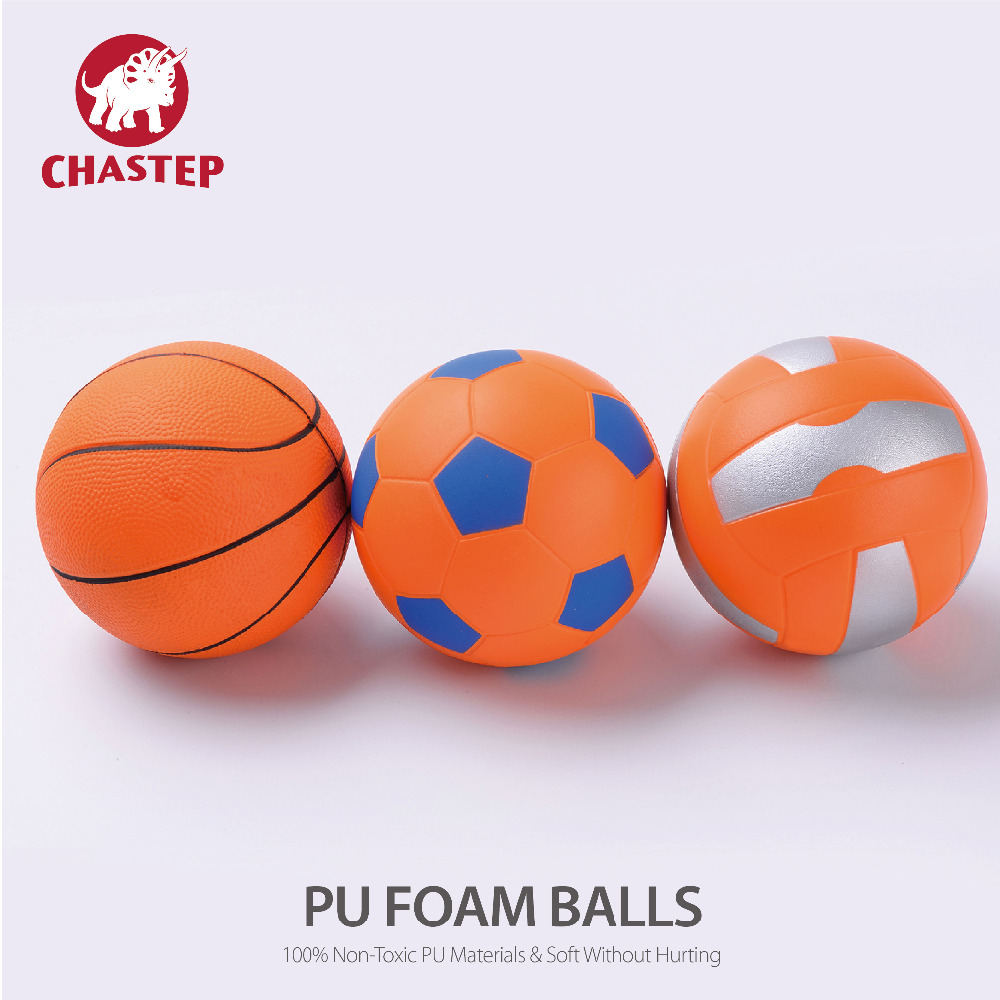 3pcs/Lots Colorful Fun Soft PU Materials Baby Kid Toy Multi-Colored Training Basketball Volleyball Soccer Ball for Kids Playing(China (Mainland))