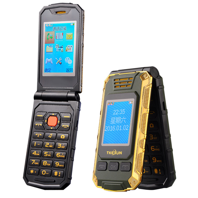 TKEXUN G5 Women Flip Phone With Double Dual Screen Camera 2.4 inch Touch Screen Luxury Cell Phone(China (Mainland))