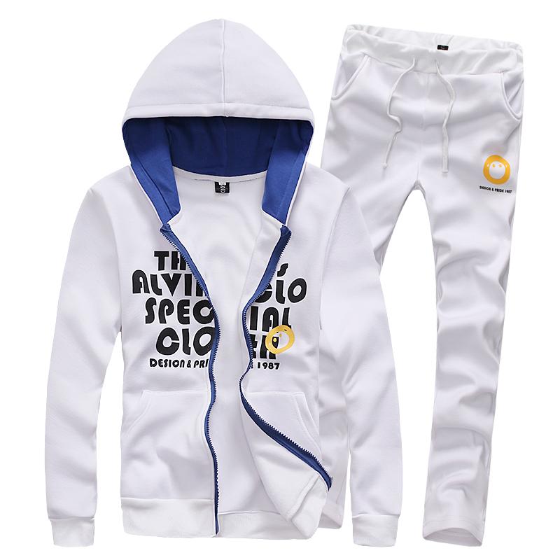 hot sale men sports suit hooded sweatshirt sportswear tracksuits 3 colors M L XL XXL XXXL D590564Одежда и ак�е��уары<br><br><br>Aliexpress