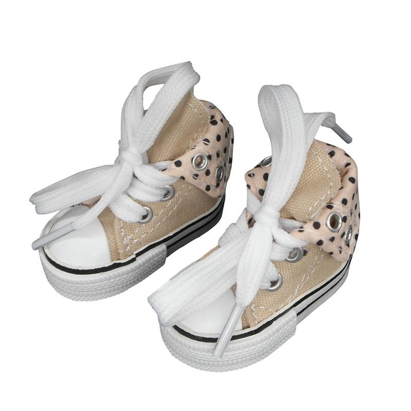 Canvas Sneaker For Paola Reina Doll,Fashion Mini Toy Gym Shoes for Tilda,1//3 Bjd