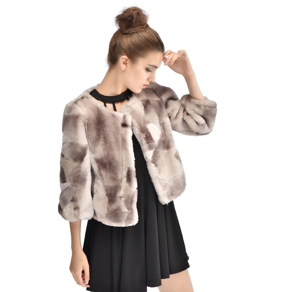 Luxury Women Fur Jackets Winter High Quality Natural Merino Fur Short Coats Winter Fur Coat Shared Sheep Fur YC1072